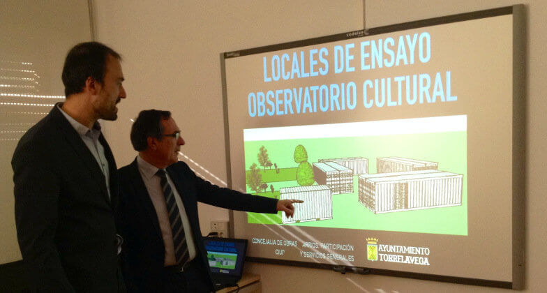 Torrelavega habilitar contenedores mar timos como locales for Locales de ensayo valencia