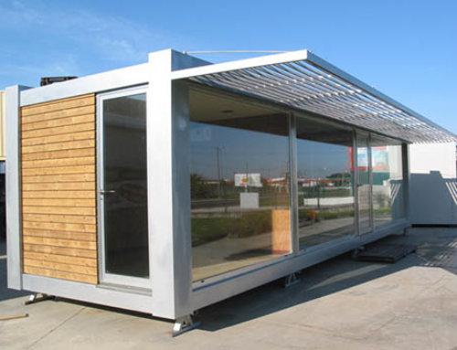 Tienda contenedor maritimo roscontainer roscontainer - Container casa precio ...