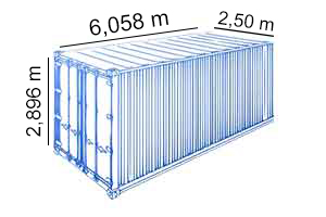 20 PIES HIGHT CUBE PALLET-WIDE