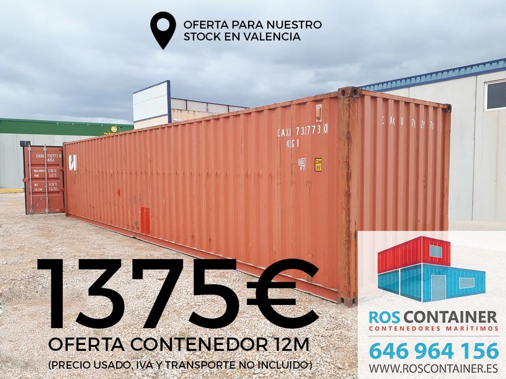 Oferta contenedor maritimo barato2 roscontainer - Contenedores maritimos baratos ...