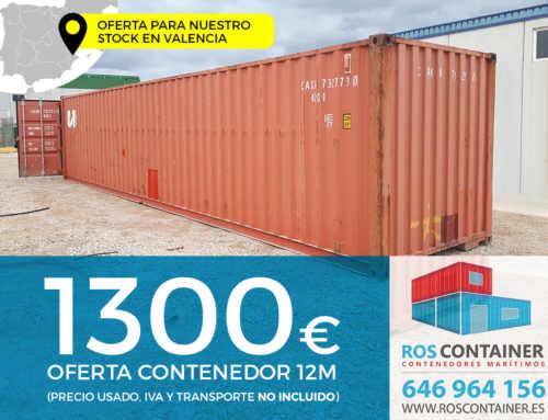 Oferta de contenedores marítimos usados