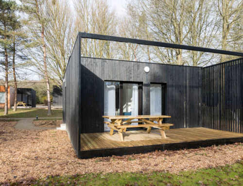 Campings construidos con contenedores marítimos