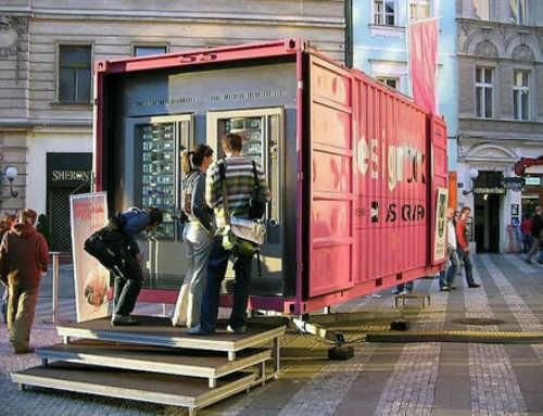 Vending con contenedores marítimos