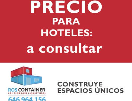 Precio para construir un hotel o camping con contenedores marítimos