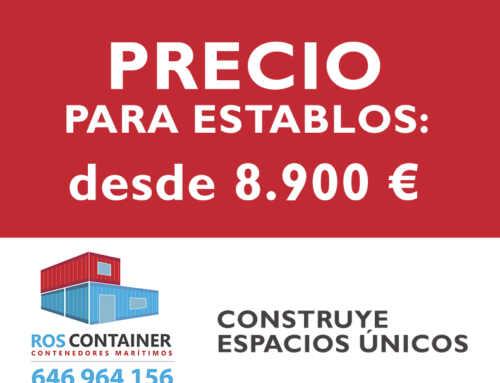 Precio de establos construidos con contenedores