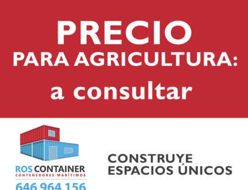 Precio de contenedor para instalaciones agrícolas