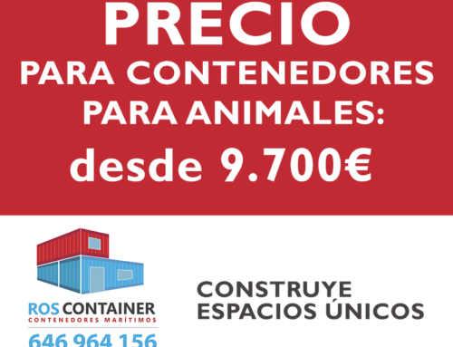Precio de contenedores marítimos para animales