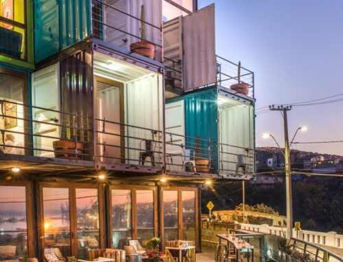 Hoteles construidos con contenedores marítimos