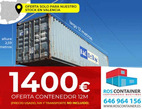 Ofertón de contenedores marítimos usados Julio 2019