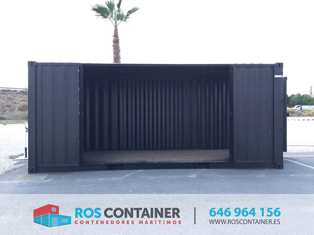 Alquilar contenedores marítimos