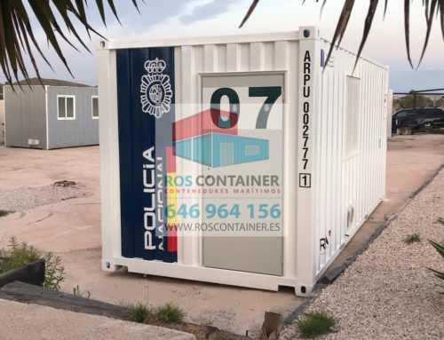 contenedor marítimo convertido en oficina